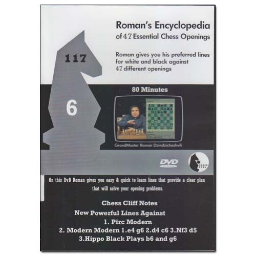Roman's Lab 117: Encyclopedia of Chess Openings Vol 6
