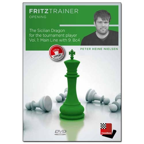The Sicilian Dragon for the Tournament Player Vol 1: Main Line with 9. Bc4 - Peter Heine Nielsen (PC-DVD)