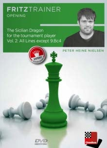The Sicilian Dragon for the Tournament Player Vol 2: All Lines except 9.Bc4 - Peter Heine Nielsen (PC-DVD)