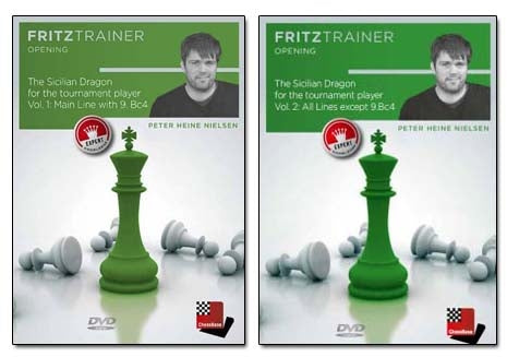The Sicilian Dragon for the Tournament Player Vol 1 and Vol 2 - Peter Heine Nielsen (PC-DVD)