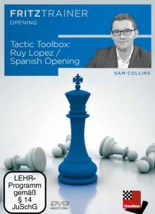 Tactic Toolbox: Ruy Lopez / Spanish Opening - Sam Collins (PC-DVD)