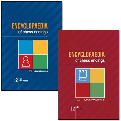 Encyclopaedia of Chess Endings I and II - Pawn Endings and Rook Endings 1 (Both 2nd editions)