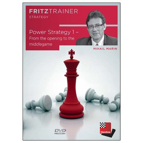Power Strategy 1: From the Opening to the Middlegame - Mihail Marin (PC-DVD)
