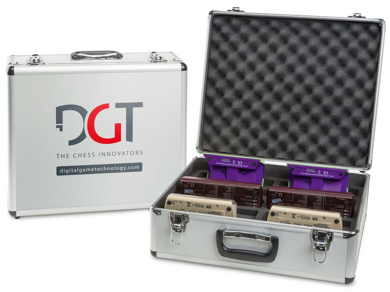 Universal Storage and Travel Case for DGT Chess Clocks