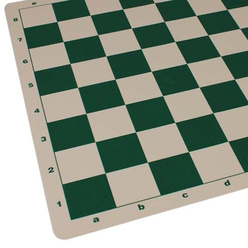 Deluxe Silicone Chess Mat (55mm Squares)