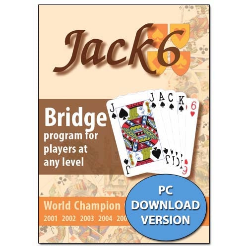 Jack 6 - Bridge Program For Players At Any Level (PC DOWNLOAD VERSION)