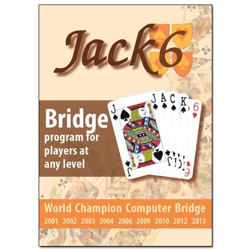 Jack 6 - Bridge Program For Players At Any Level (PC-CD)