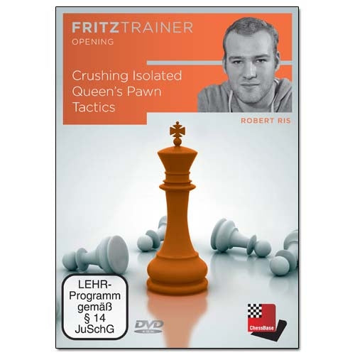 Crushing Isolated Queen's Pawn Tactics - Robert Ris (PC-DVD)