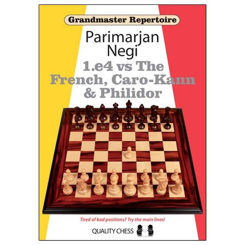 Grandmaster Repertoire: 1.e4 vs The French, Caro-Kann & Philidor - Parimarjan Negi