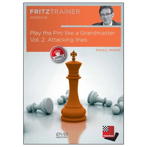 Play the Pirc like a Grandmaster Volume 2: Attacking Lines - Mihail Marin (PC-DVD)