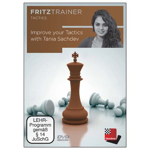 Improve Your Tactics with Tania Sachdev (PC-DVD)