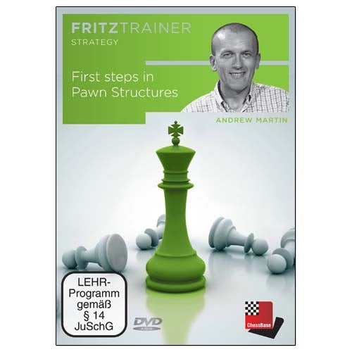 First steps in Pawn Structures - Andrew Martin (PC-DVD)