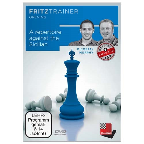 A Repertoire Against The Sicilian - D'Costa & Murphy (PC-DVD)