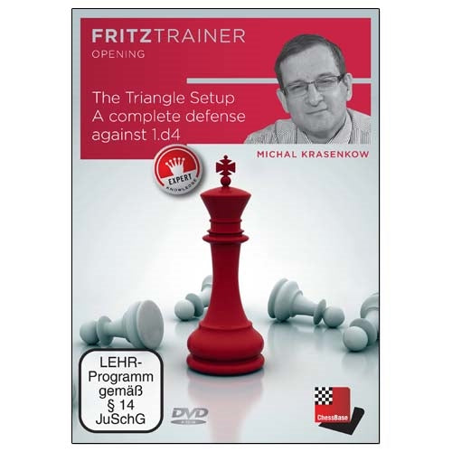 The Triangle Setup: A Complete Defense Against 1.d4 - Michal Krasenkow (PC-DVD)