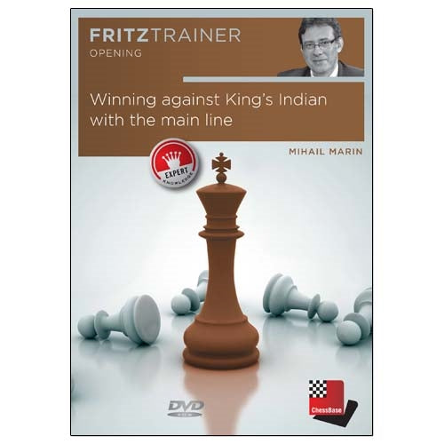 Winning Against King's Indian with the Main Line - Mihail Marin (PC-DVD)
