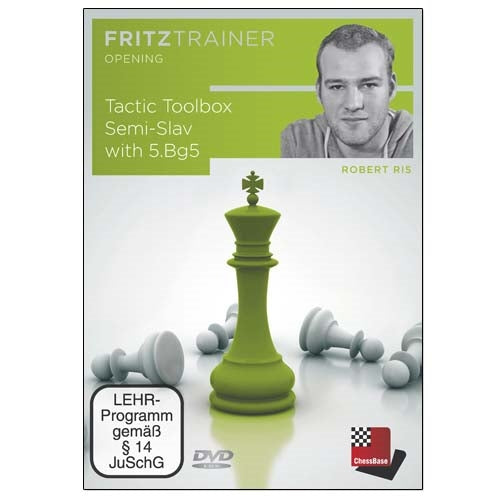 Tactic Toolbox Semi-Slav with 5.Bg5 - Robert Ris (PC-DVD)