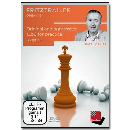 Original and aggressive: 1...b6 for practical players - Nigel Davies (PC-DVD)