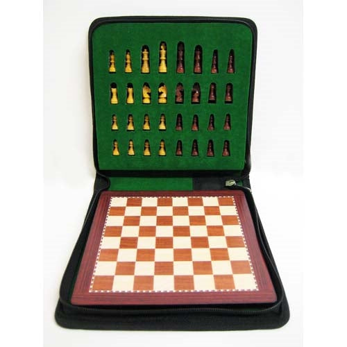 Petrosian Travel Magnetic Chess Set with Carry Case (20 x 20 cm)