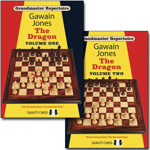 Grandmaster Repertoire: The Dragon Volume 1 and 2 - Gawain Jones (2 books, paperback)