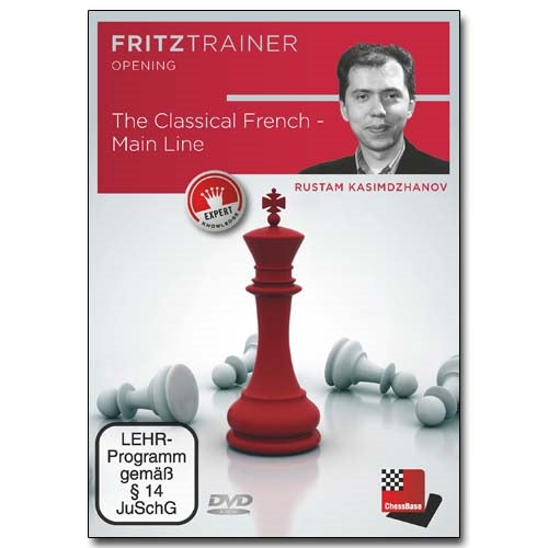 The Classical French: Main Line - Rustam Kasimdzhanov (PC-DVD)