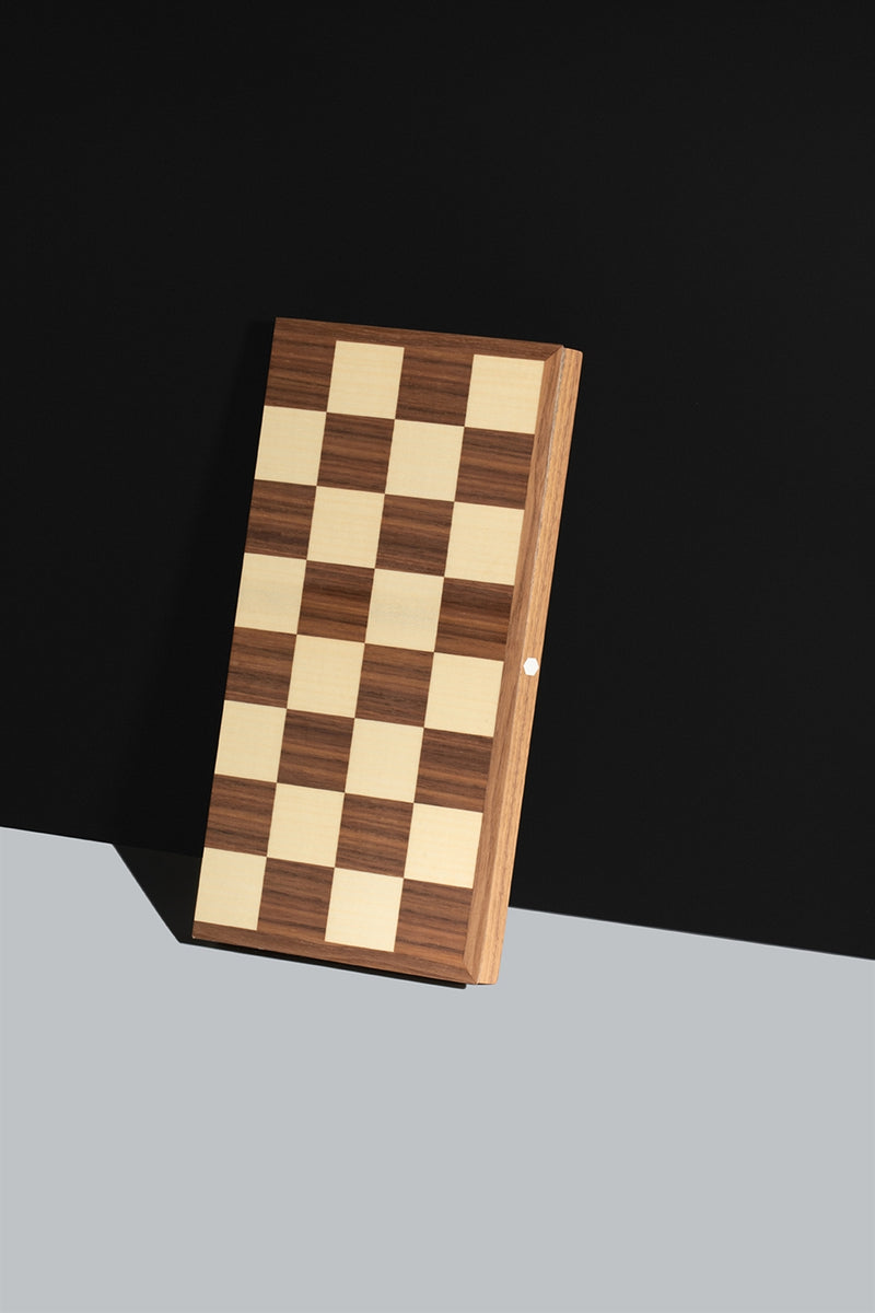World Chess Folding Chess Board with 45mm Squares