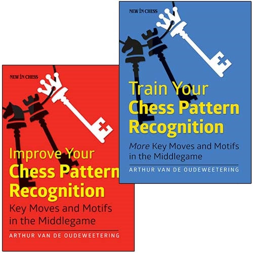 Both Improve and Train Your Chess Pattern Recognition - Arthur Van de Oudeweetering (2 books)