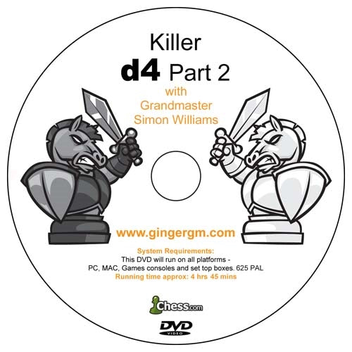 Killer d4 Part 1 and 2 with Grandmaster Simon Williams (2 DVDs)