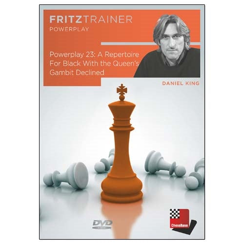Power Play 23: A Repertoire For Black With the Queen's Gambit Declined - Daniel King (PC-DVD)