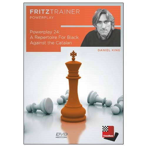 Power Play 24: A Repertoire For Black Against the Catalan - Daniel King (PC-DVD)