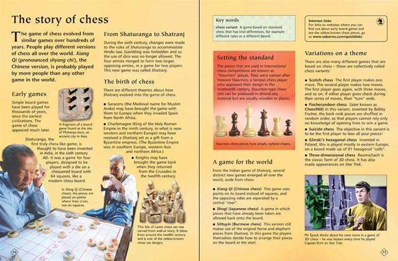 Usborne Complete Book of Chess