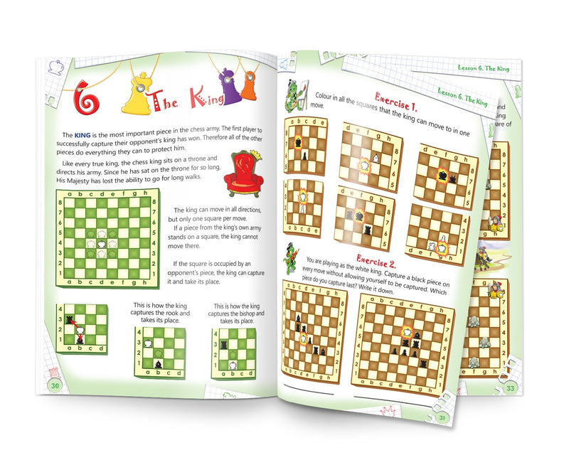 Chess: Easy to learn, fun to play - Level 1 Student Book