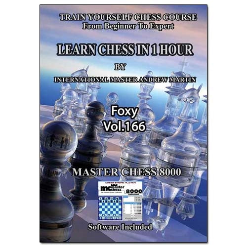 Foxy 166: Learn Chess in 1 Hour - Andrew Martin