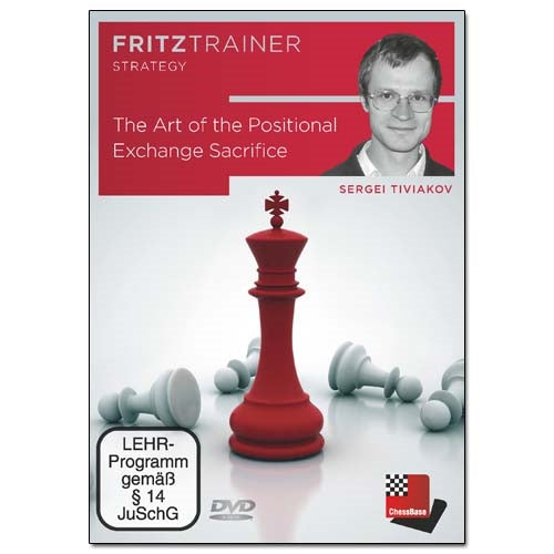 The Art of the Positional Exchange Sacrifice - Sergei Tiviakov (PC-DVD)