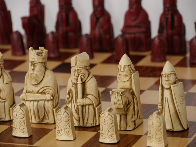 Berkeley Chess Isle of Lewis Chess Pieces - Cardinal