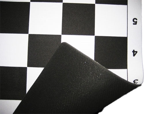 Mousepad Chess Mat - Black (55mm squares)