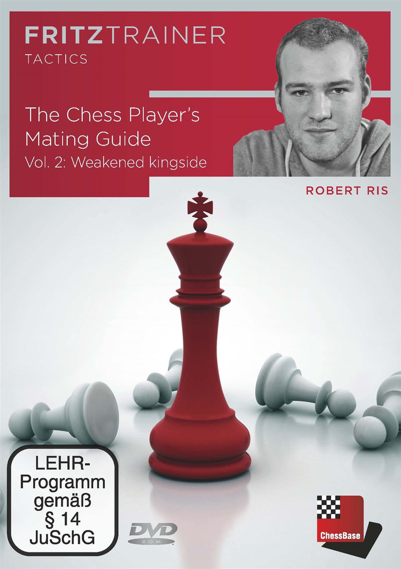 The Chess Player's Mating Guide Vol.2 - Weakened Kingside - Robert Ris (PC-DVD)