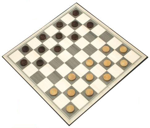 Classic Box Games: Checkers (Draughts)
