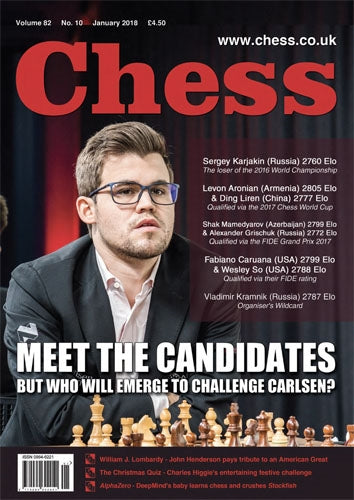 CHESS Magazine - January 2018