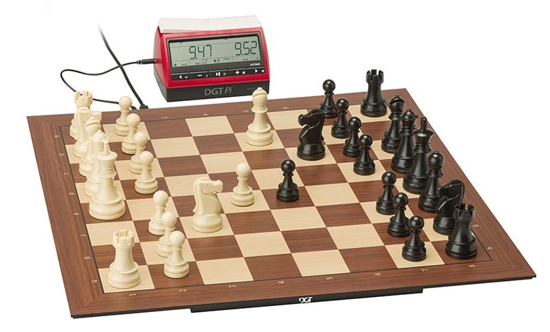 DGT Smart Board & Plastic Pieces with DGT Pi Chess Computer
