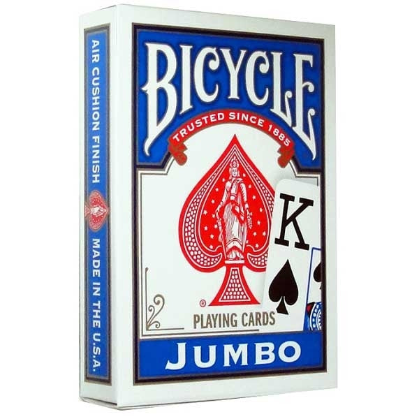 Bicycle Playing Cards - Jumbo (Blue)