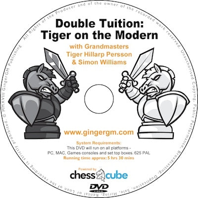 Double Tuition: Tiger on the Modern with Tiger Hillarp Persson & Simon Williams (DVD)