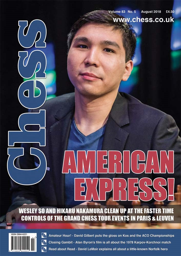 CHESS Magazine - August 2018