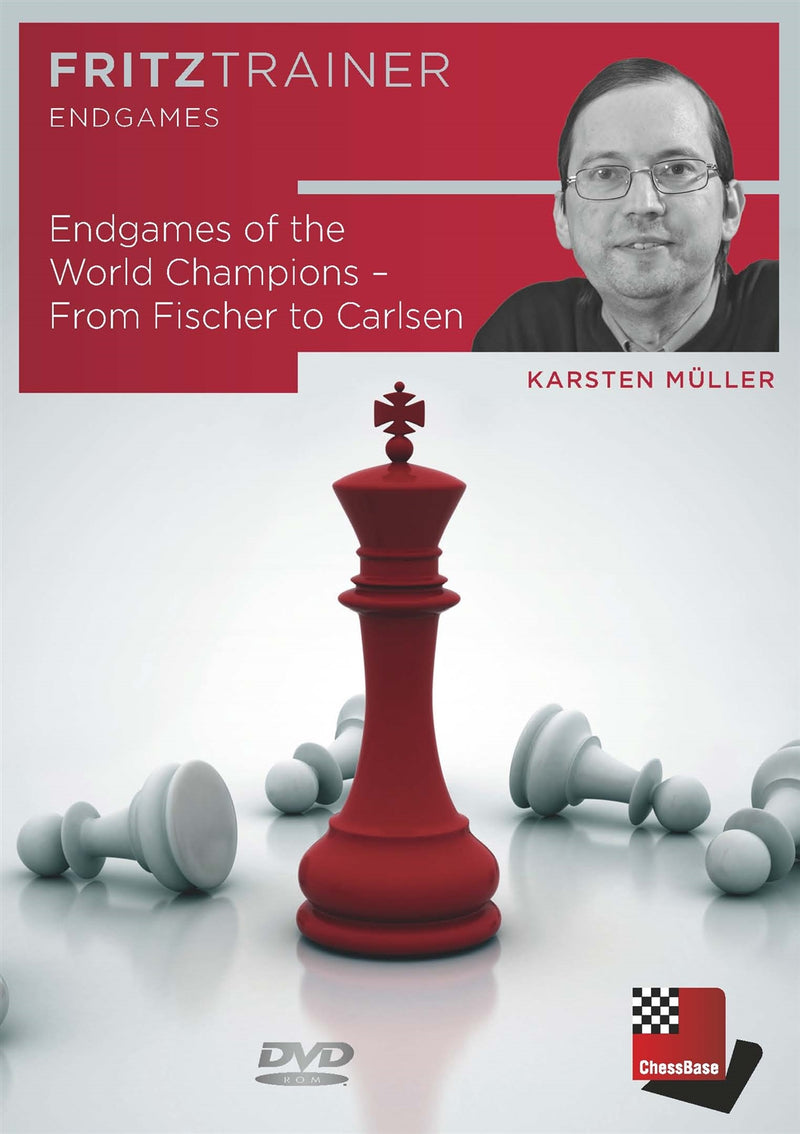 Endgames of the World Champions: From Fischer to Carlsen - Karsten Muller (PC-DVD)