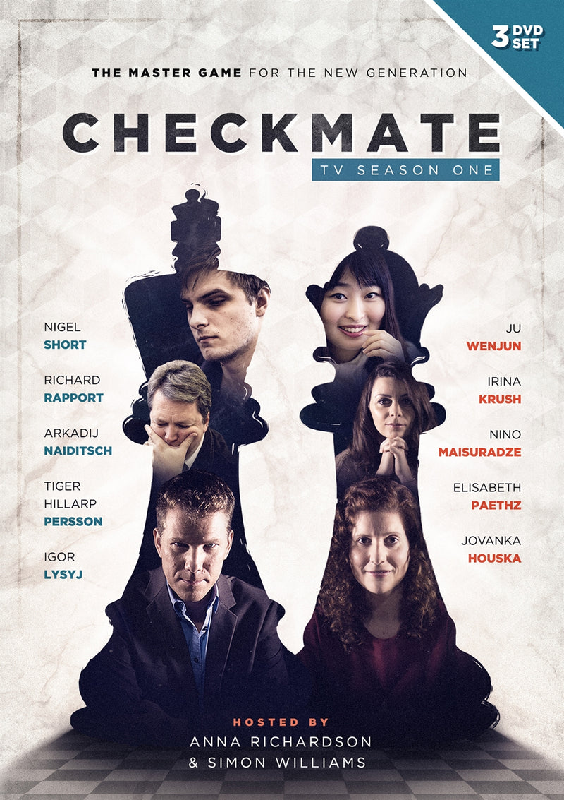 Checkmate: TV Season One - Hosted by Anna Richardson & Simon Williams (3 DVD Set)
