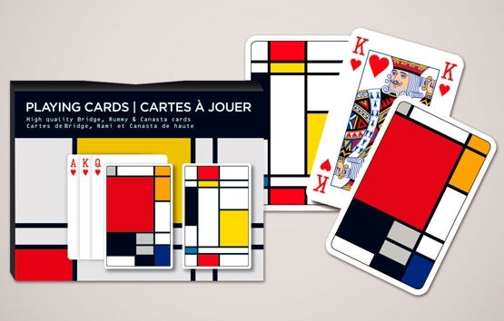 Double Deck Decorative Playing Cards - Squares