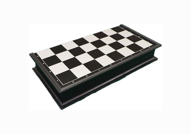 Folding Magnetic Plastic Chess Set - Small
