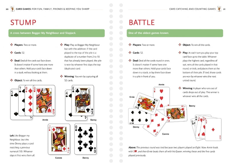 Card Games: For Fun, Family, Friends & Keeping You Sharp - David Parlett