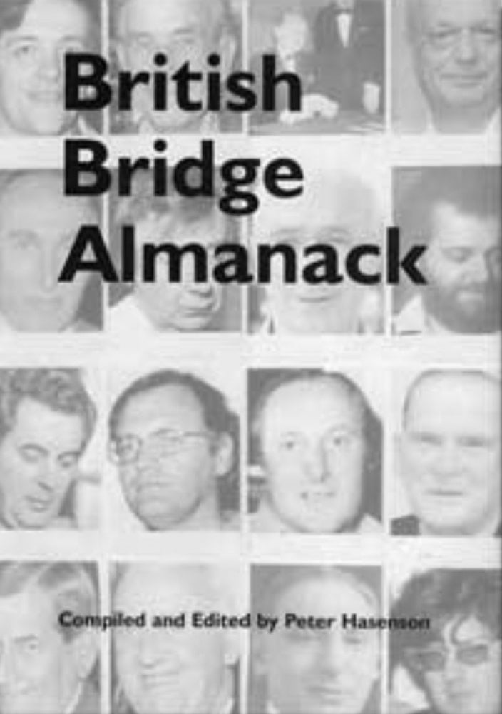 British Bridge Almanack - Peter Hasenson