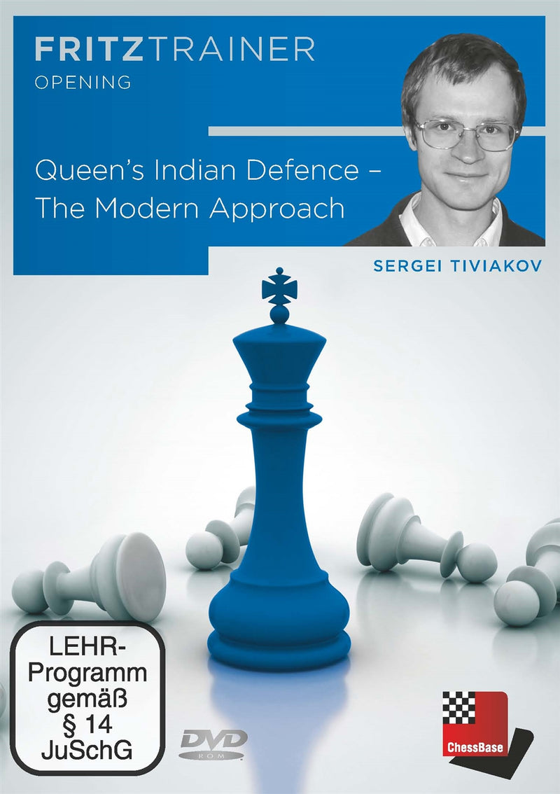 Queen's Indian Defence: The Modern Approach - Sergei Tiviakov (PC-DVD)