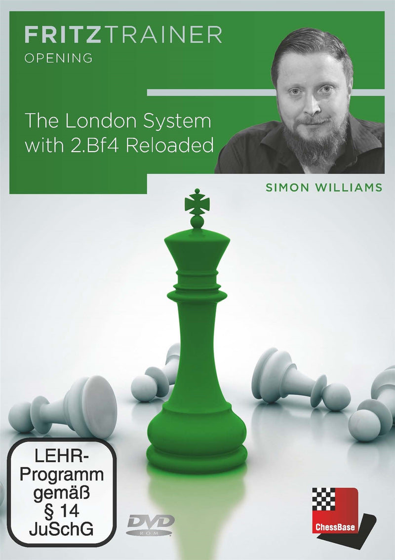 The London System with 2.Bf4 Reloaded - Simon Williams (PC-DVD)